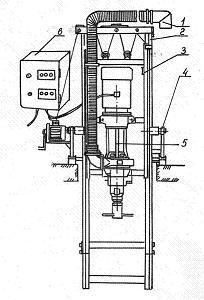 Агрегат передвижной центробежный шламовый НЖН-200А-1.
