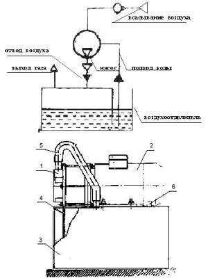 Вакуумный насос чертеж